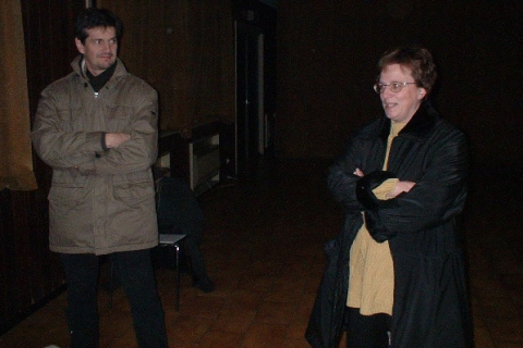 Eric Mathieu en An Vermeir