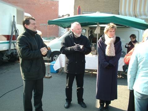 Karel, Eric en Helga
