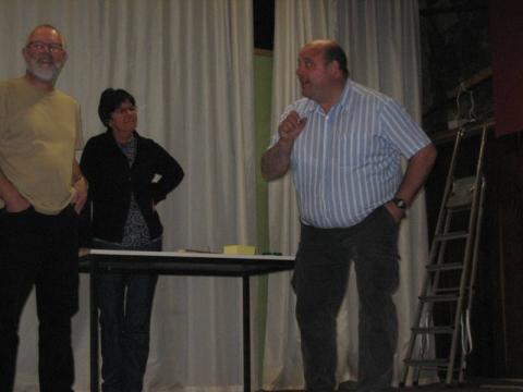 Eric, Marleen en Luk